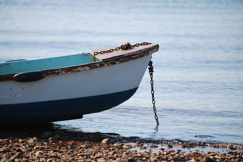 Free stock photo of beach, boat, low tide, shore