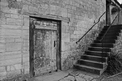 Free stock photo of door, steps