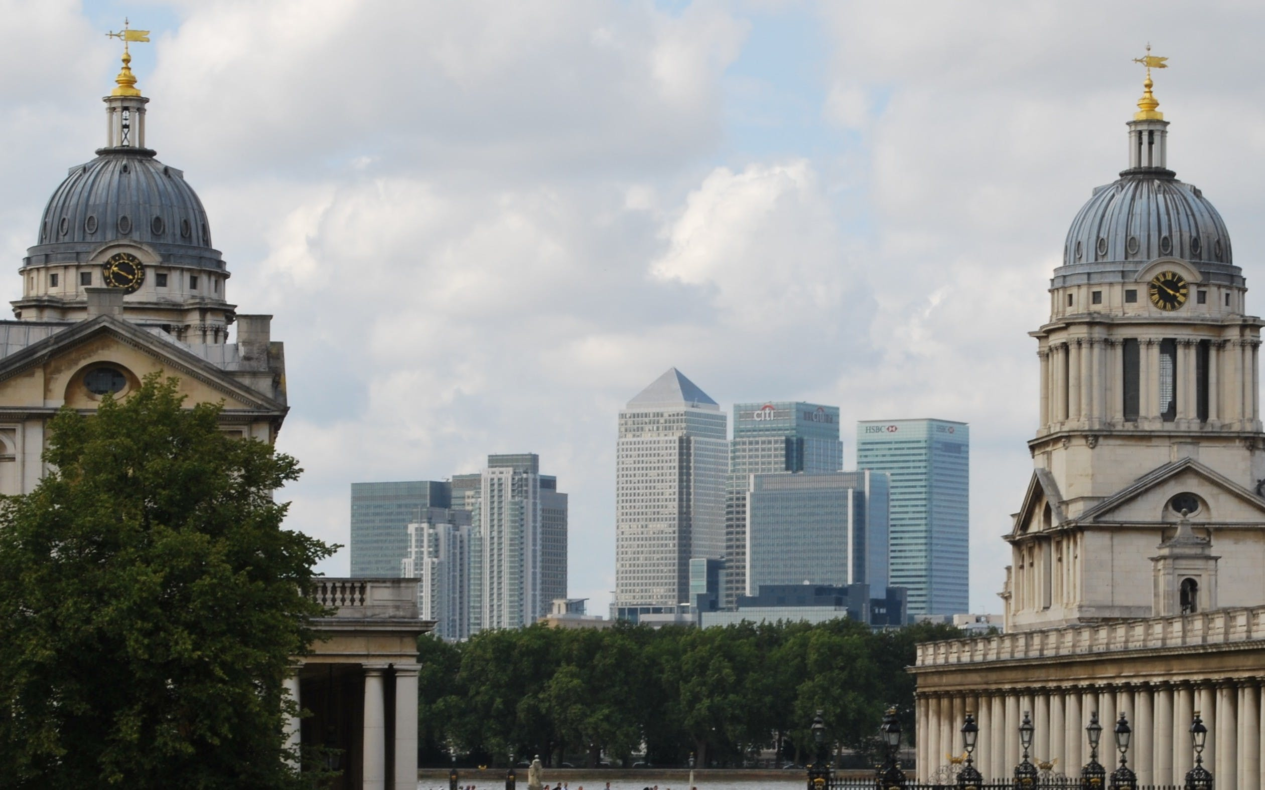 Free stock photo of archetecture, canary wharf, old & new