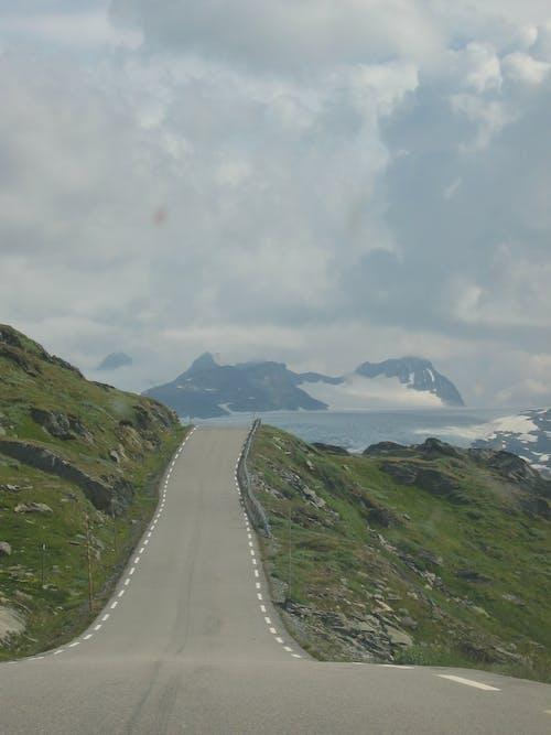 Imagine de stoc gratuită din drum, fiord, Norvegia, zăpadă
