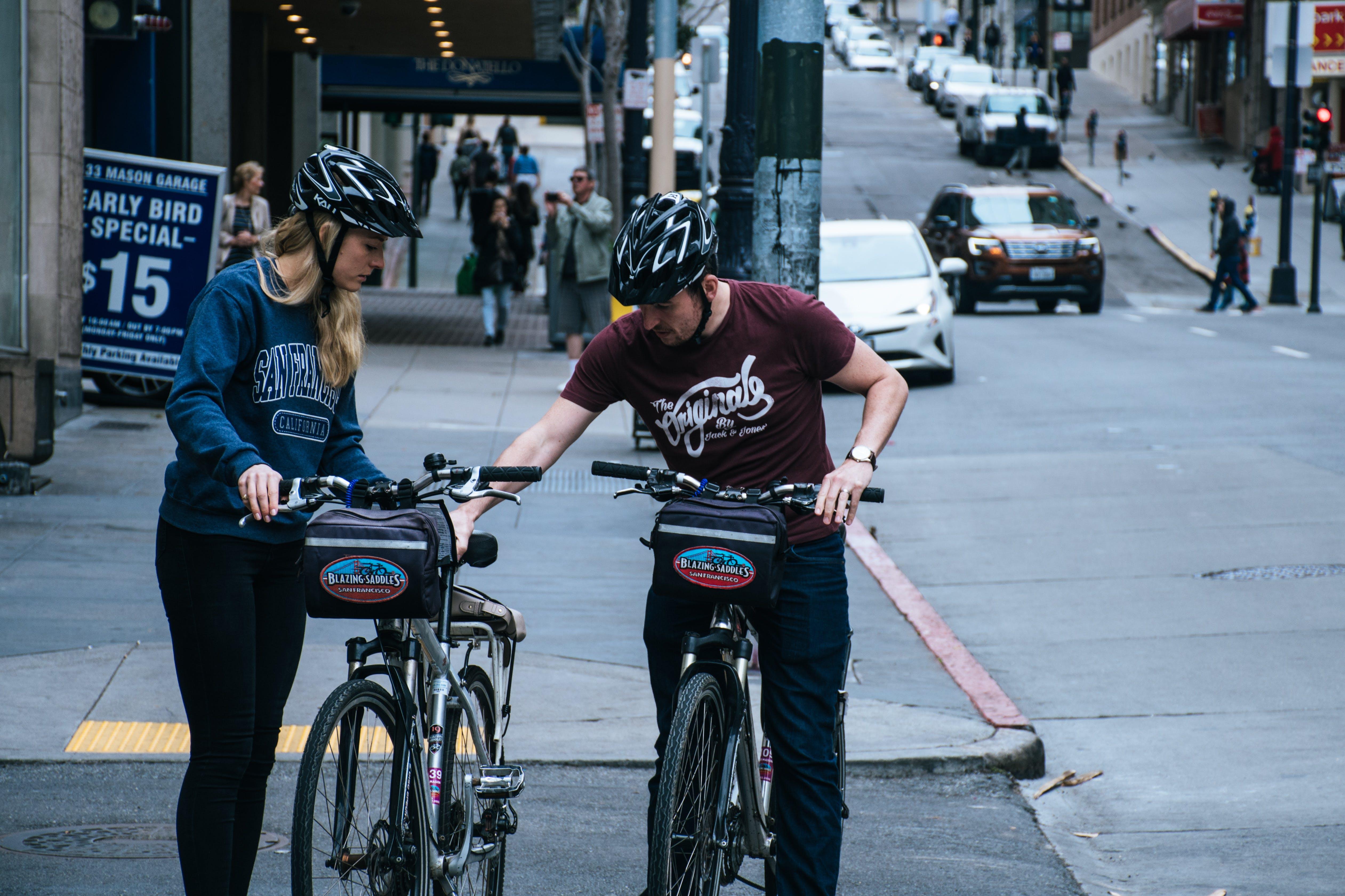 Foto stok gratis jalan, kaum wanita, kota, laki-laki