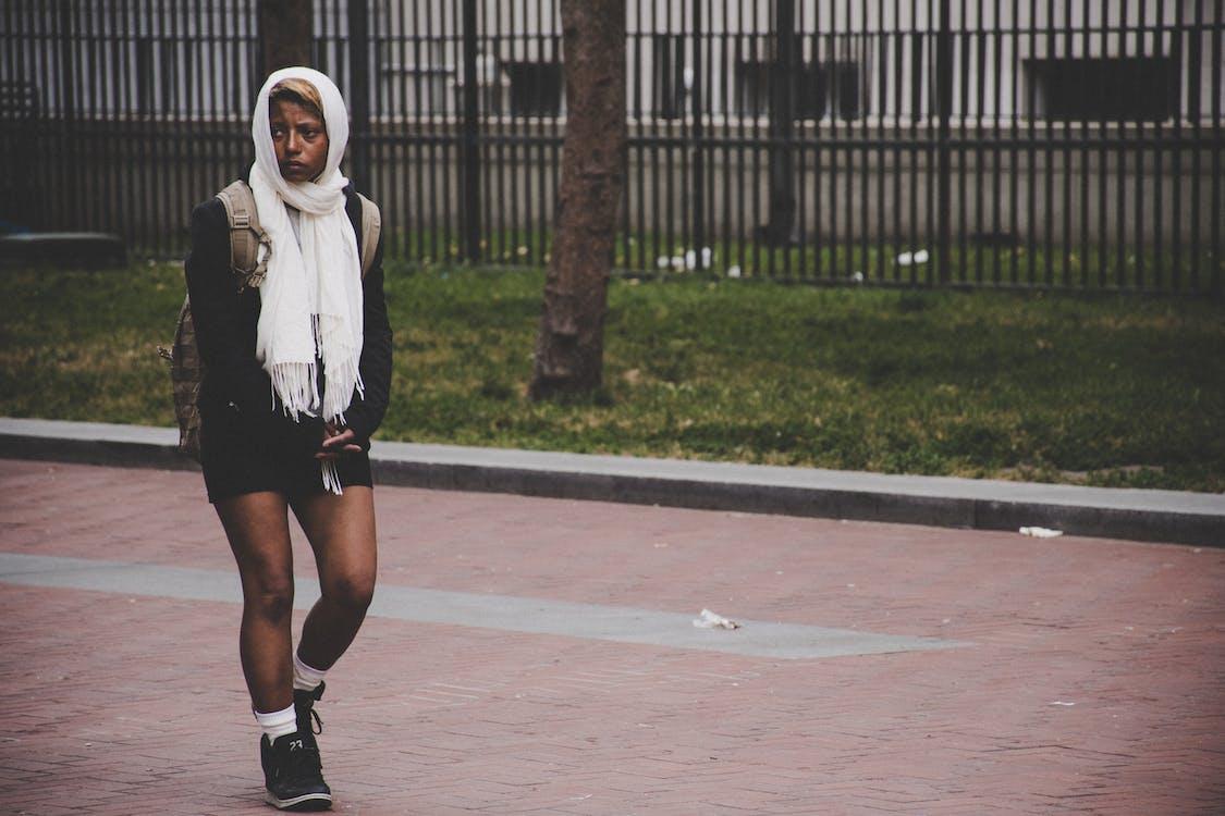 černoška, holka, móda