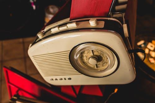 Free stock photo of analog, knobs, radio, vintage