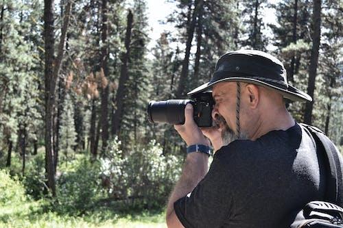 Ingyenes stockfotó erdő, fényképész, fényképészet, Férfi témában