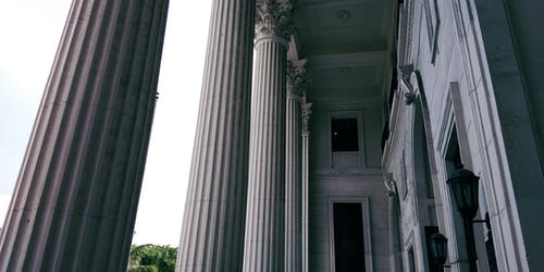 Free stock photo of architecture, column, museum