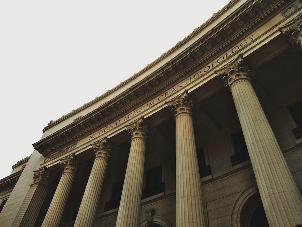 altes gebäude, architektur, aufnahme von unten