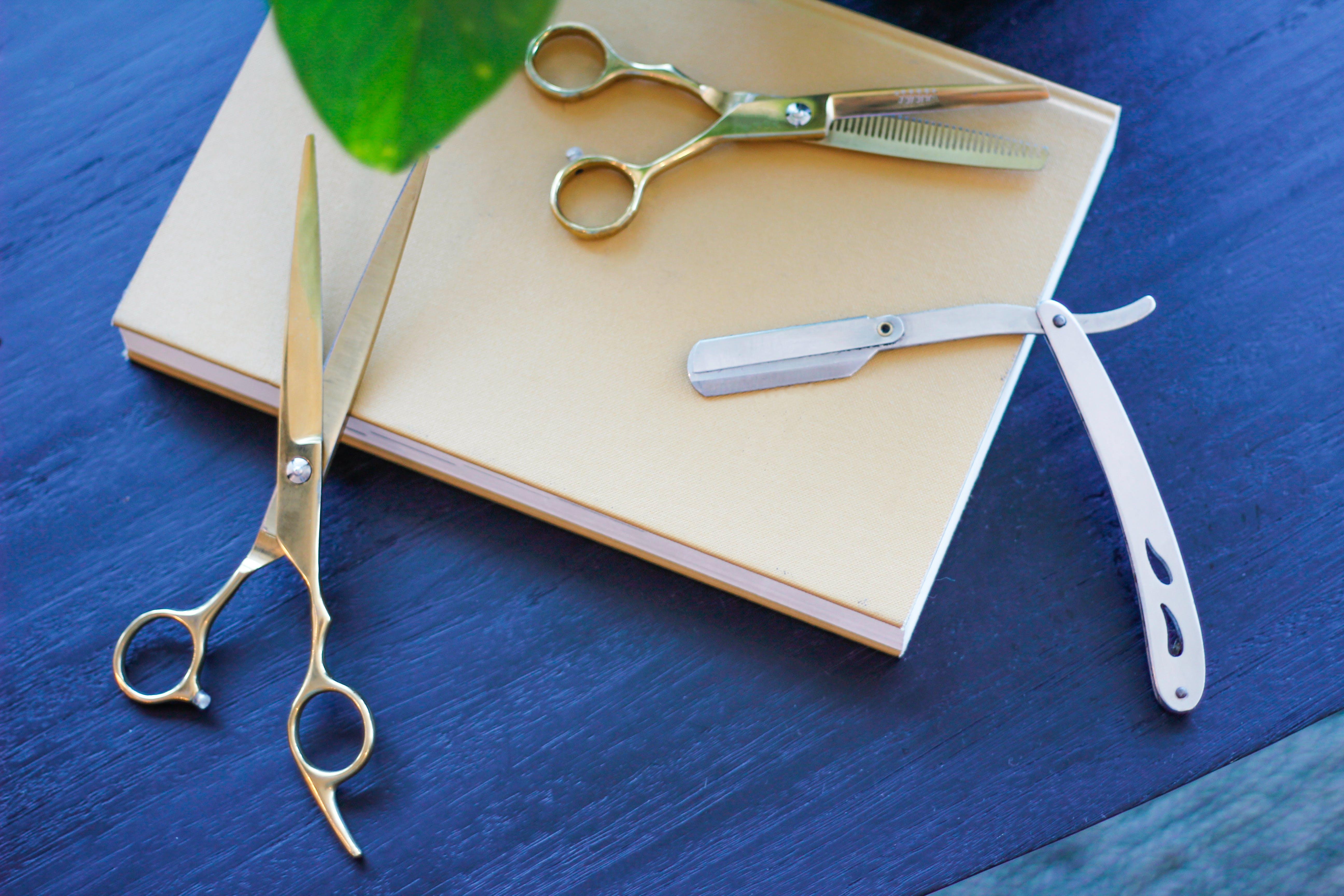 Free stock photo of barber shop, hair scissors, barbearia, tesouras