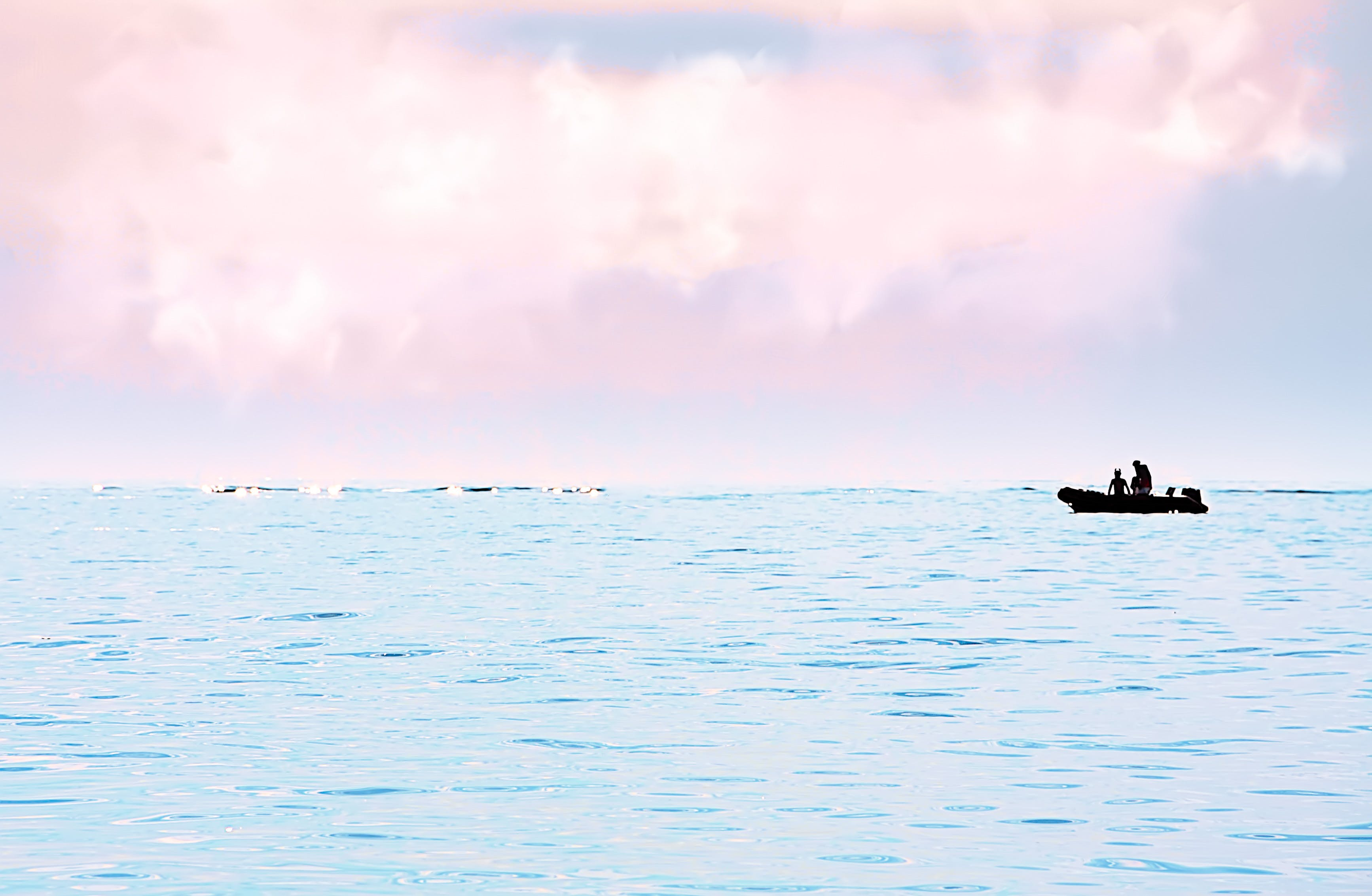 Free stock photo of fishing, sea, water, boat