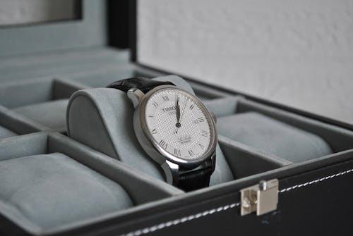 Free stock photo of Analog watch, automatic, tissot