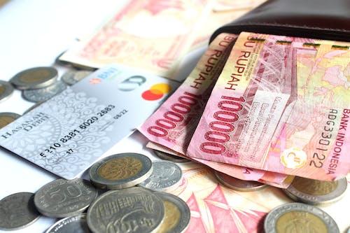 Foto stok gratis bank, dompet, Indonesia, investasi