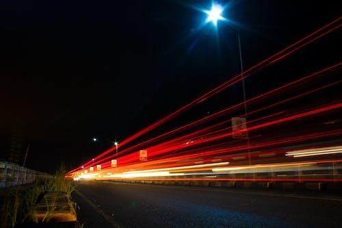 가벼운 골짜기, 거리, 광선, 도로의 무료 스톡 사진