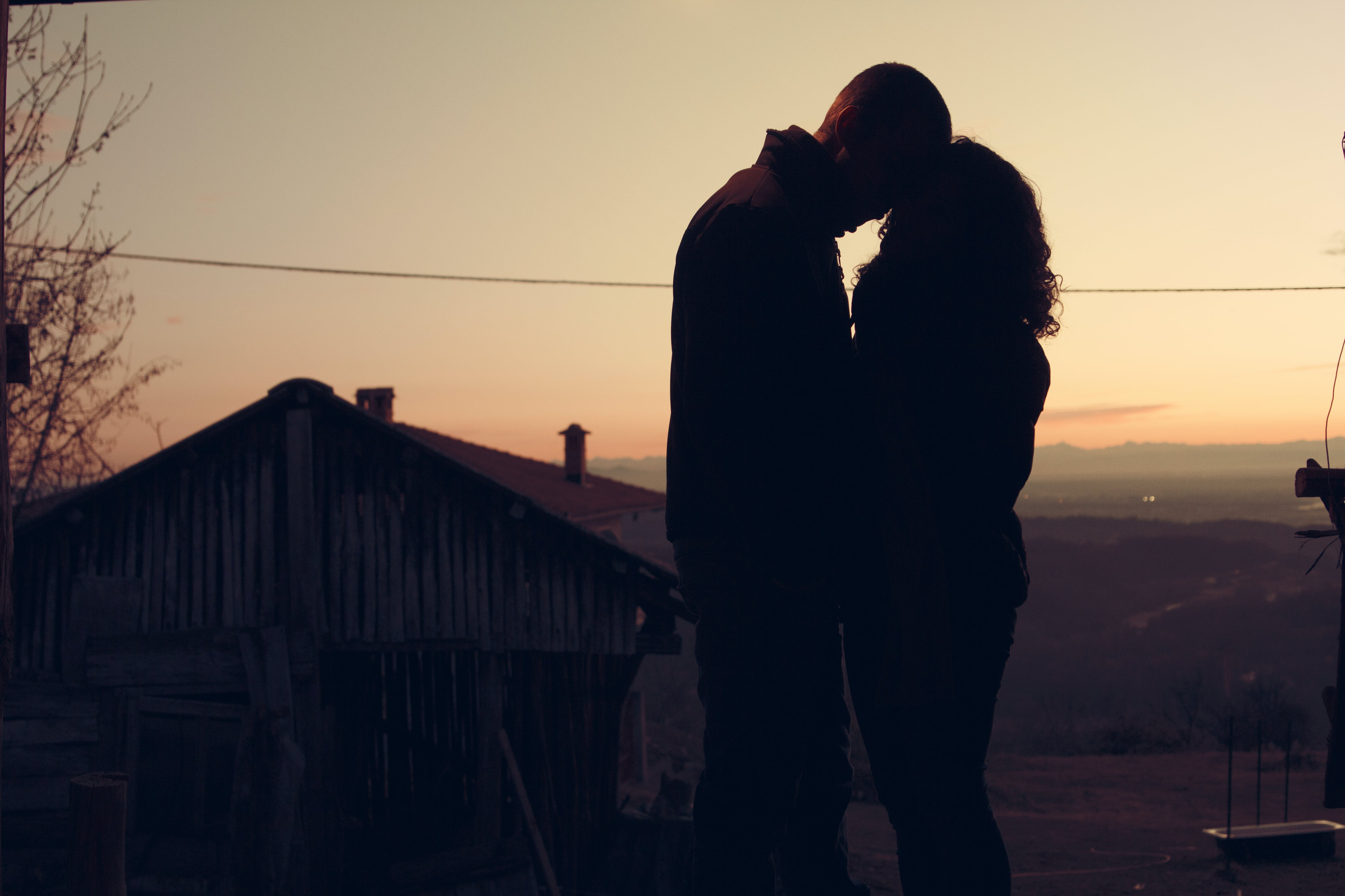 Free stock photo of amour, couple, dawn, dusk