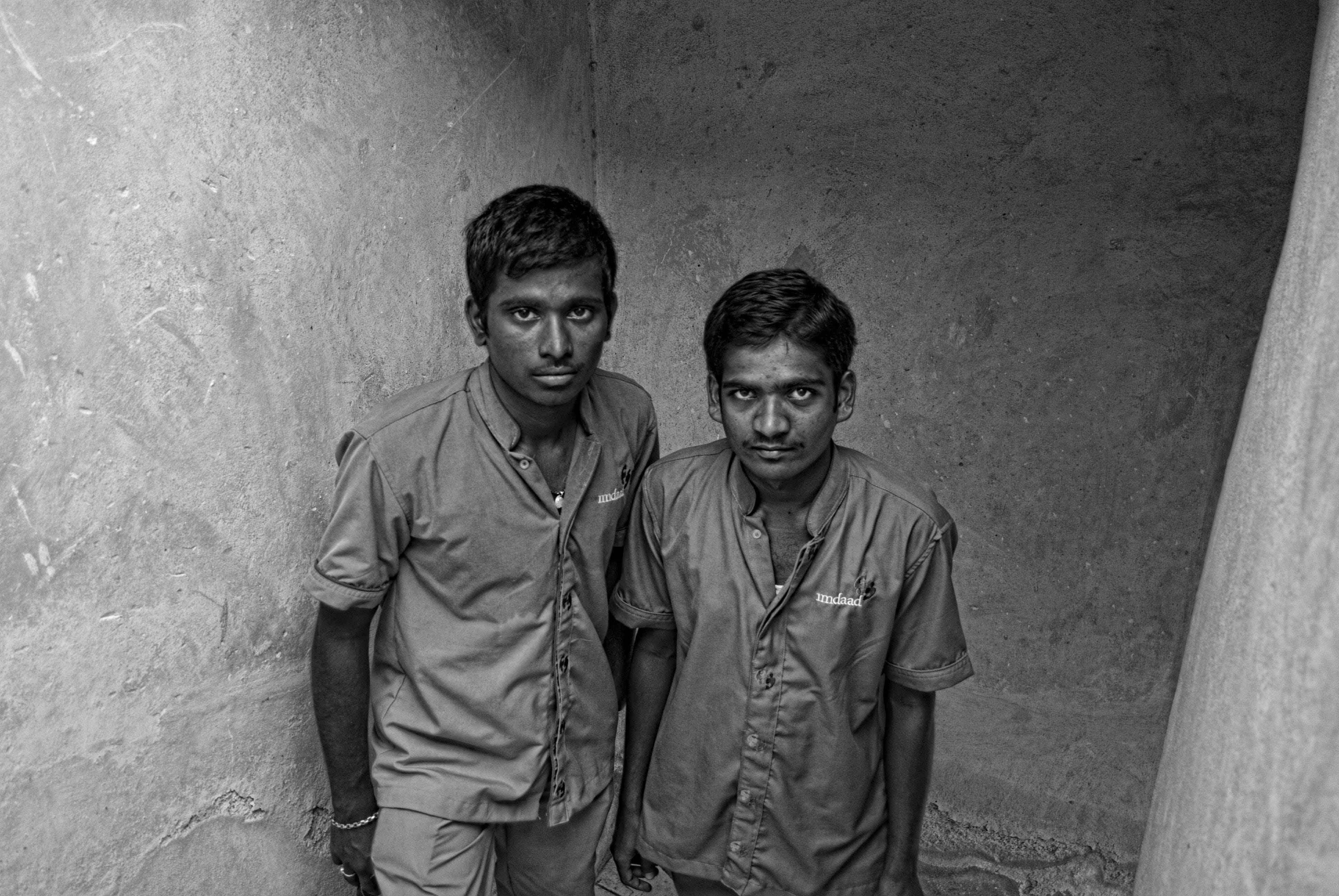 Free stock photo of #black&white #urbanwall #portrait