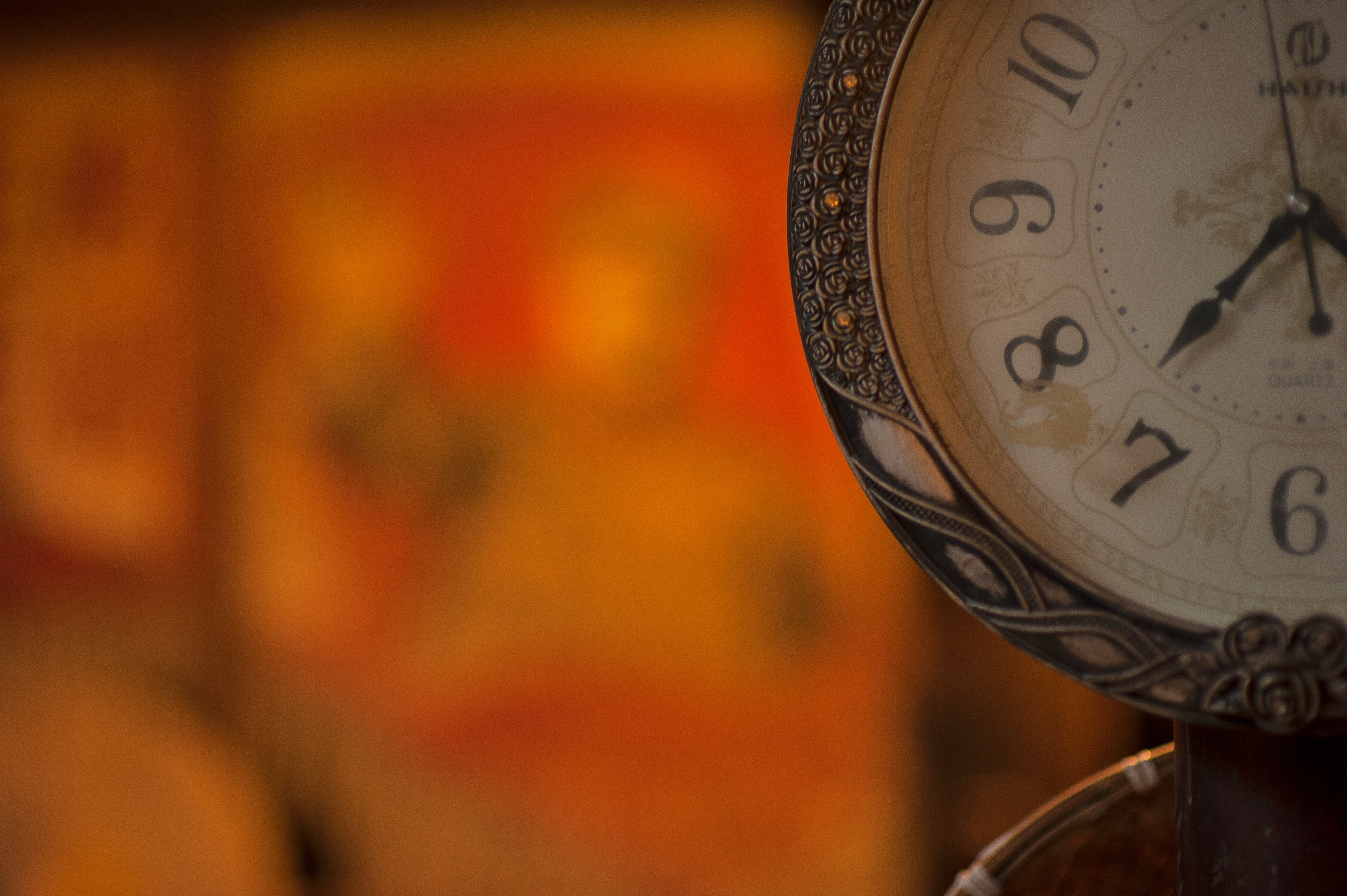 Shallow Focus Photo of Analog Watch