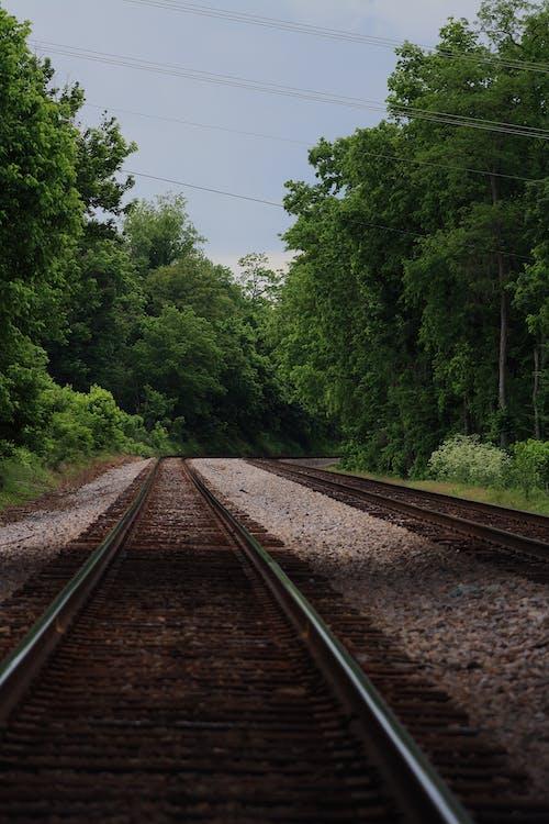 Darmowe zdjęcie z galerii z tory kolejowe