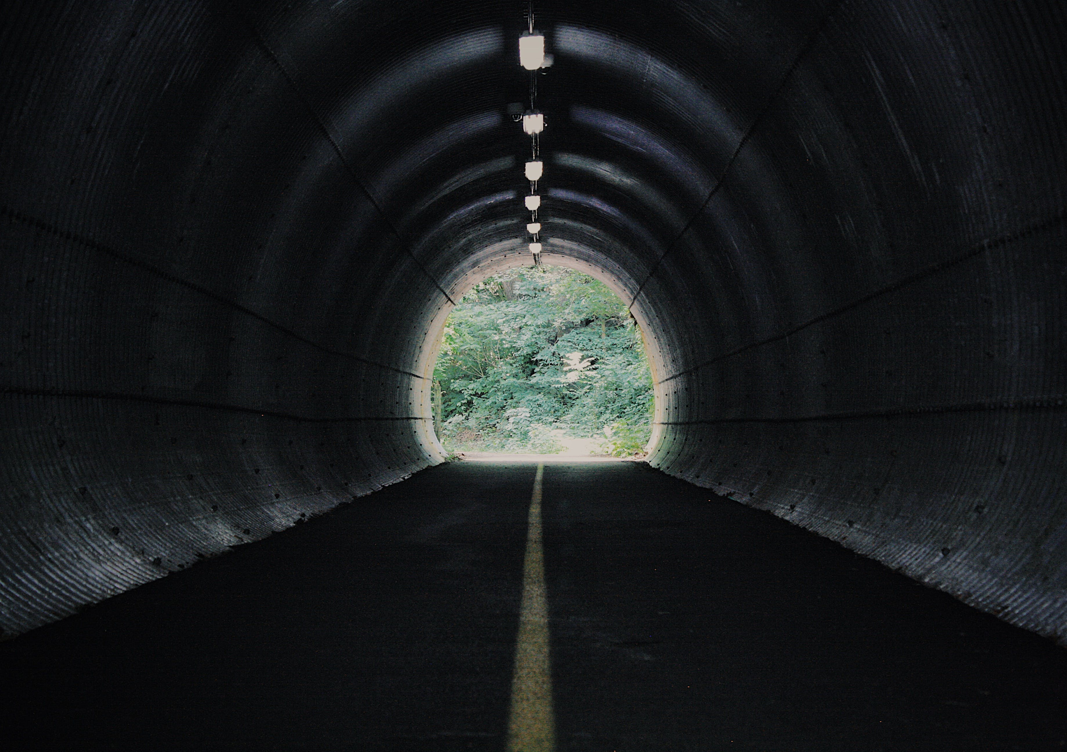 Free stock photo of tunnel