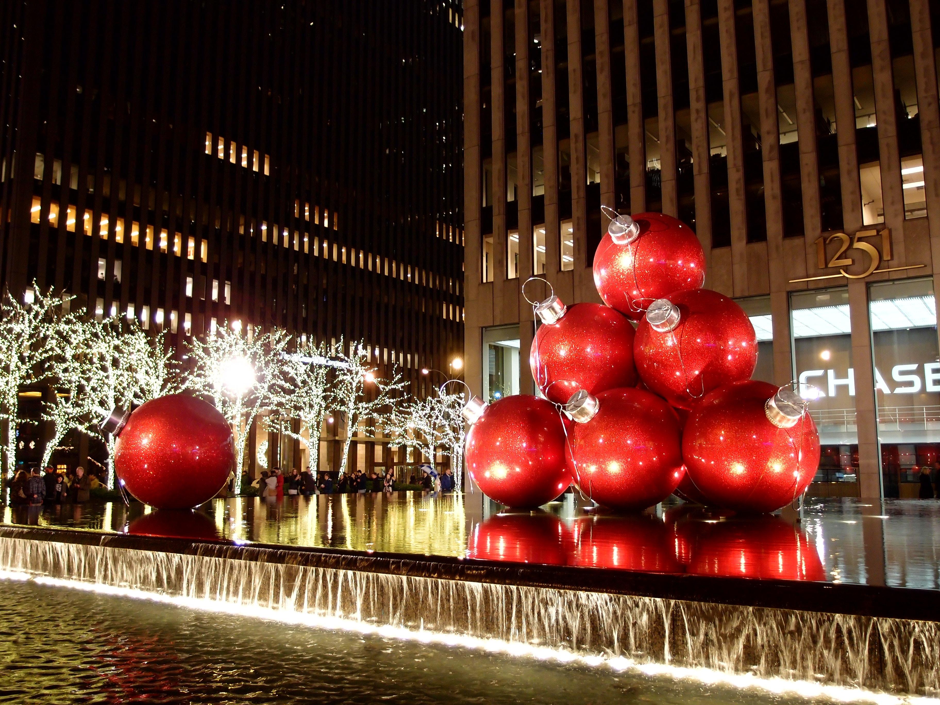 Kostenloses Foto zum Thema: nyc weihnachten, weihnachten in new york
