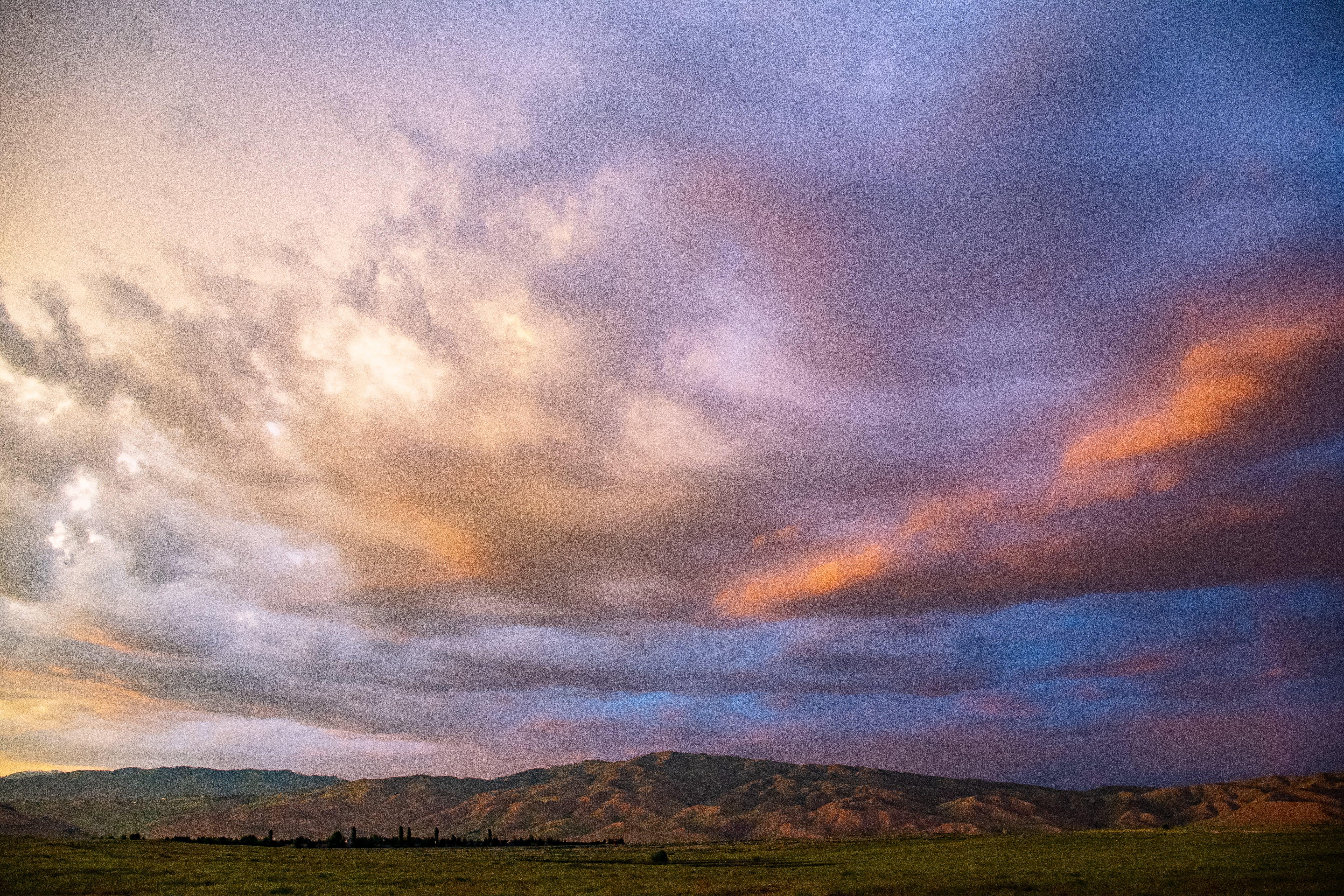 Immagine gratuita di alba, cielo, cloud, drammatico