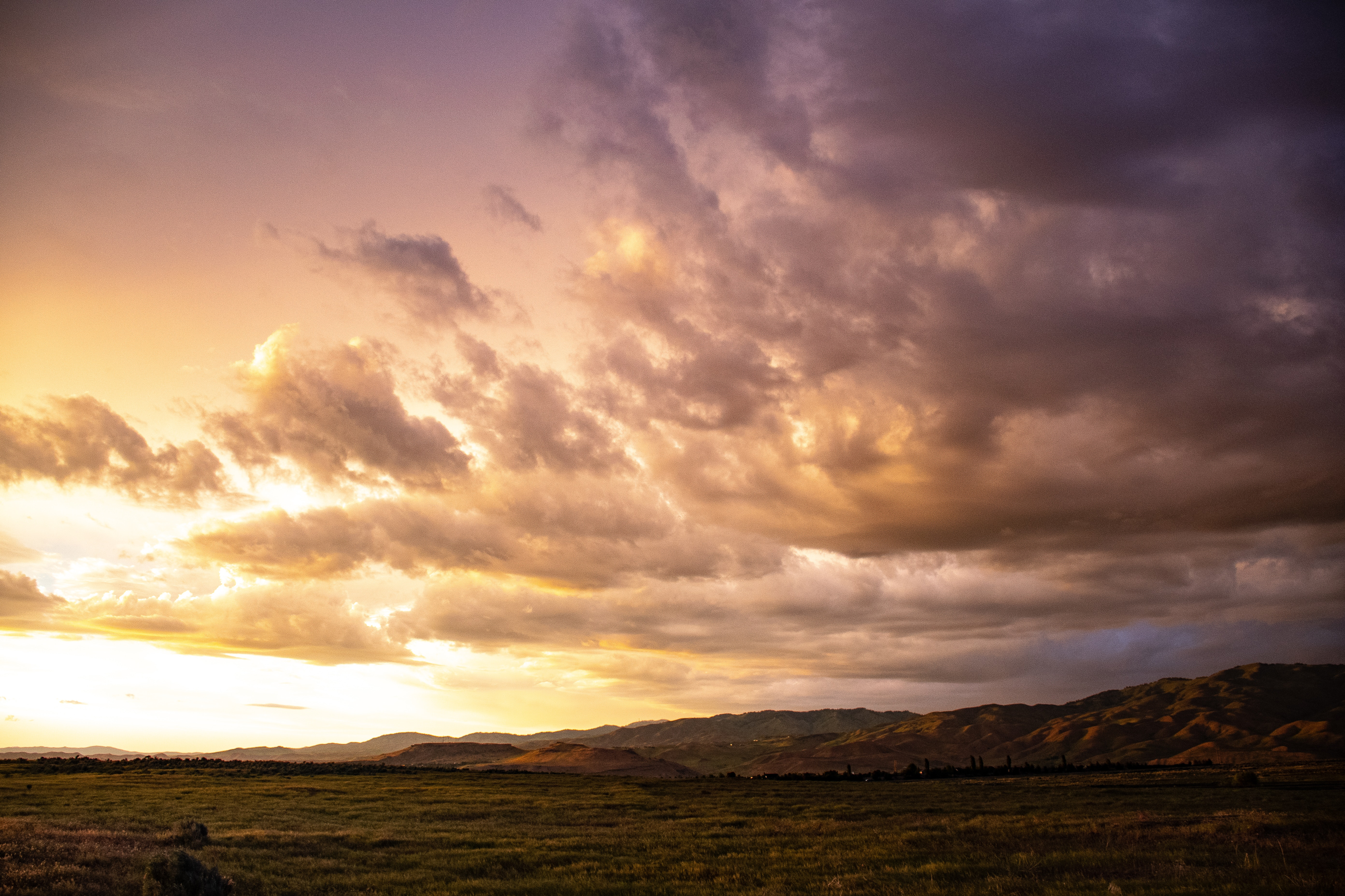 Free Stock Photo Of Backlit Clouds Dawn