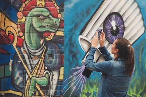 Ilmainen kuvapankkikuva tunnisteilla graffiti, ikuistaa, katutaide, lady
