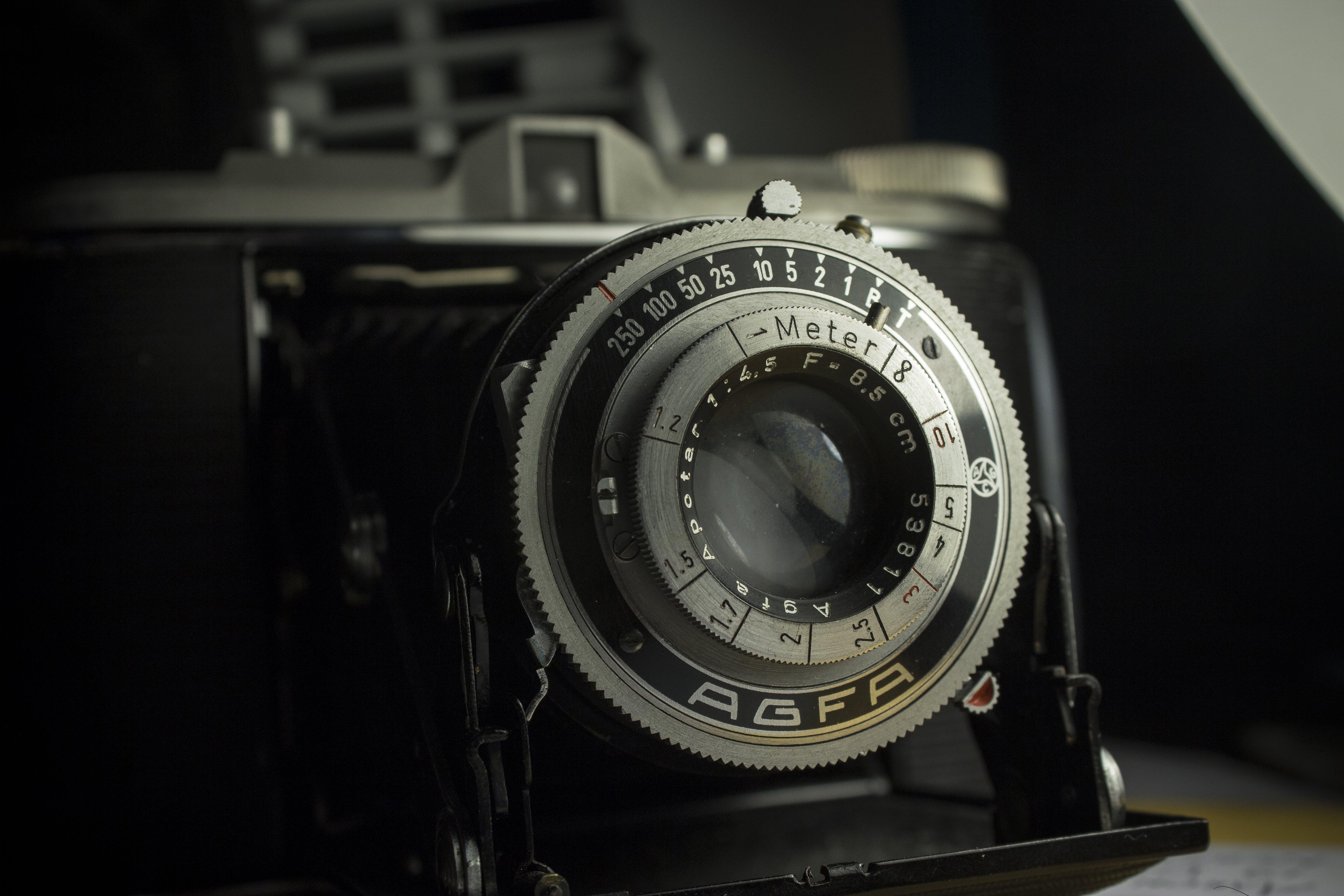 Black and Silver Camera