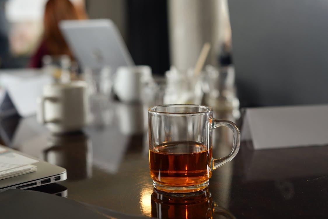 daggry, drikke, glass