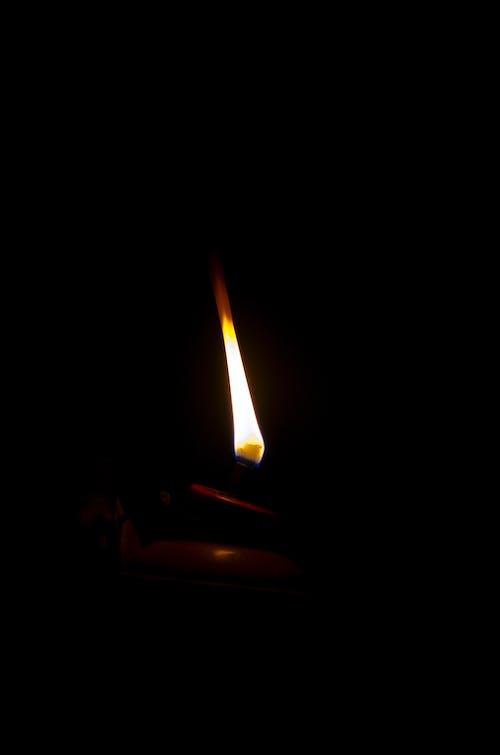 Kostnadsfri bild av brand, levande ljus, ljus
