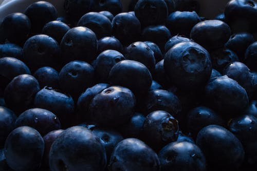 Closeup Photo of Blueberries