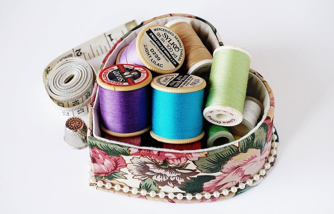 algodón, artesanía, bobina
