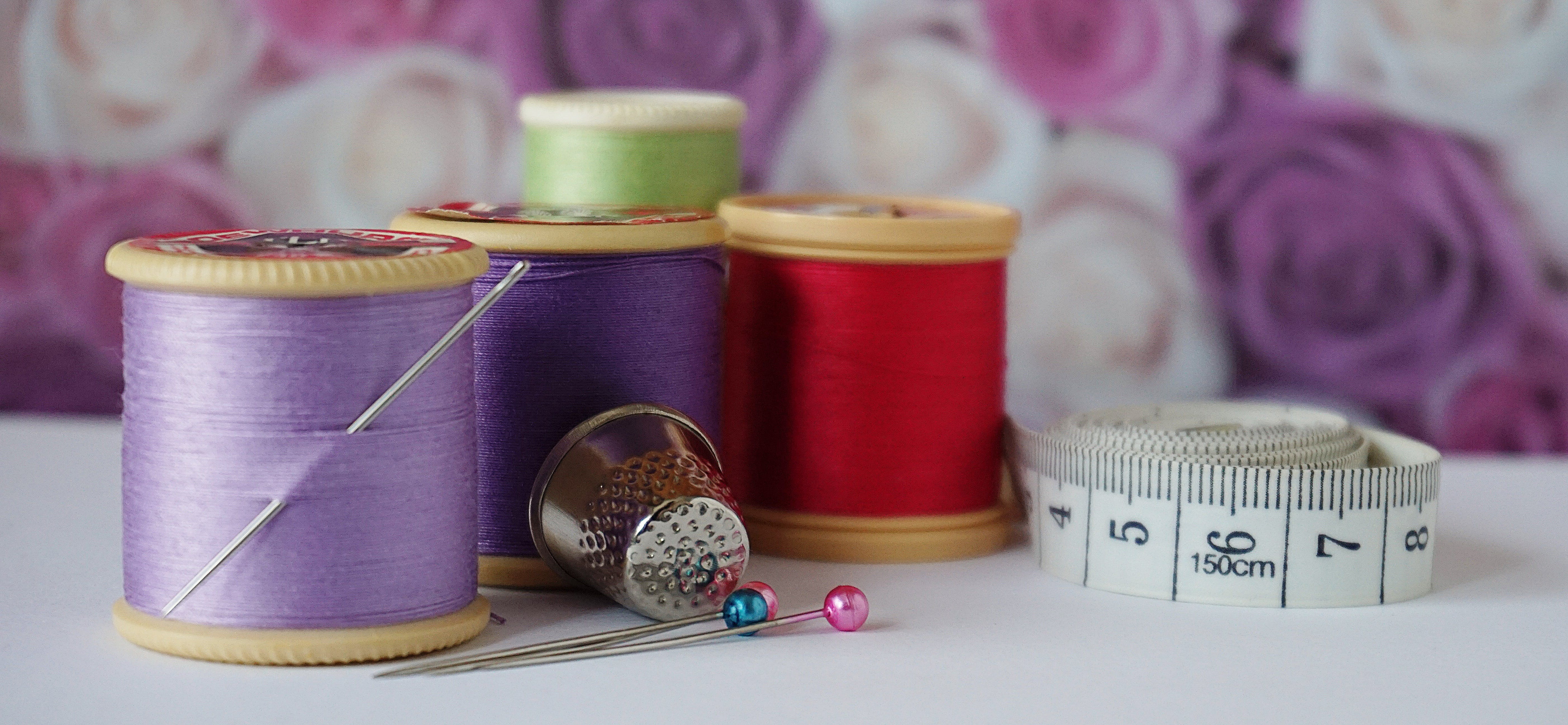 Free stock photo of cotton, cotton reels, cotton thread, crafts