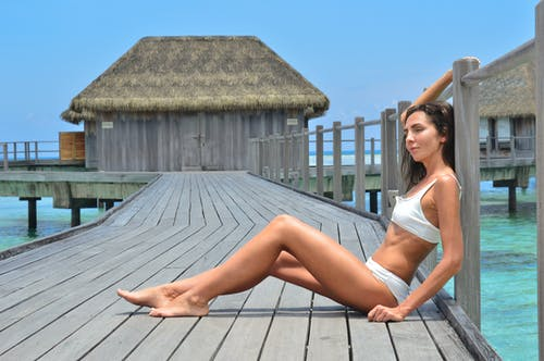 Fotos de stock gratuitas de actitud, agua, al aire libre, bikini