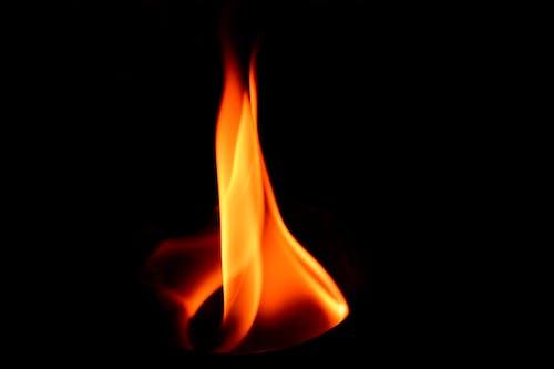 Fotos de stock gratuitas de fuego, llama, negro