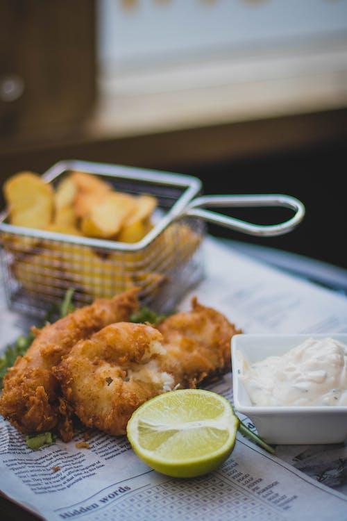 Fotos de stock gratuitas de almuerzo, carne, cena, cítricos