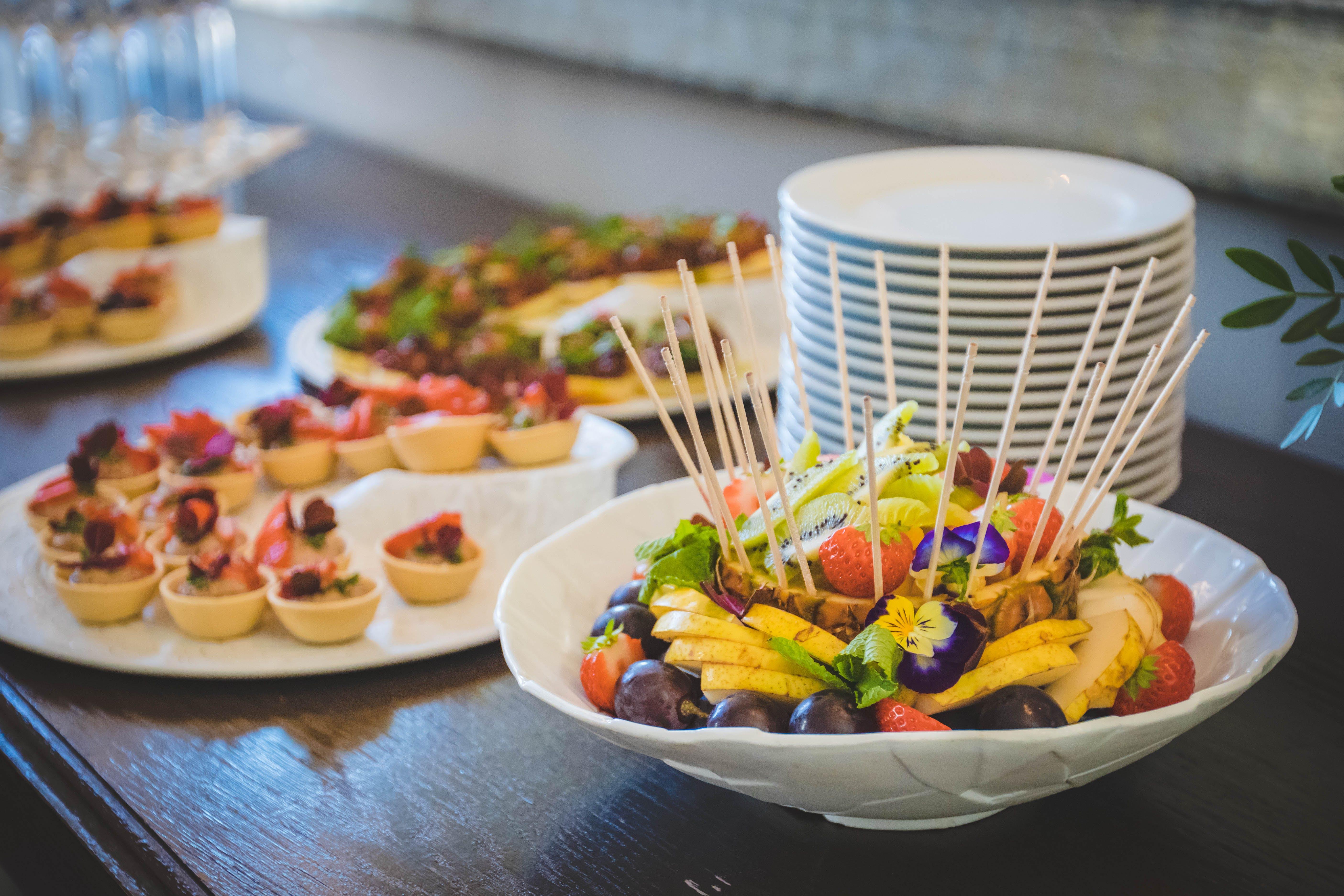 Kostenloses Stock Foto zu essen, teller, gemüse, restaurant