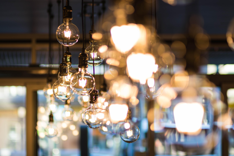 Acrescente iluminação ao espaço do seu negócio