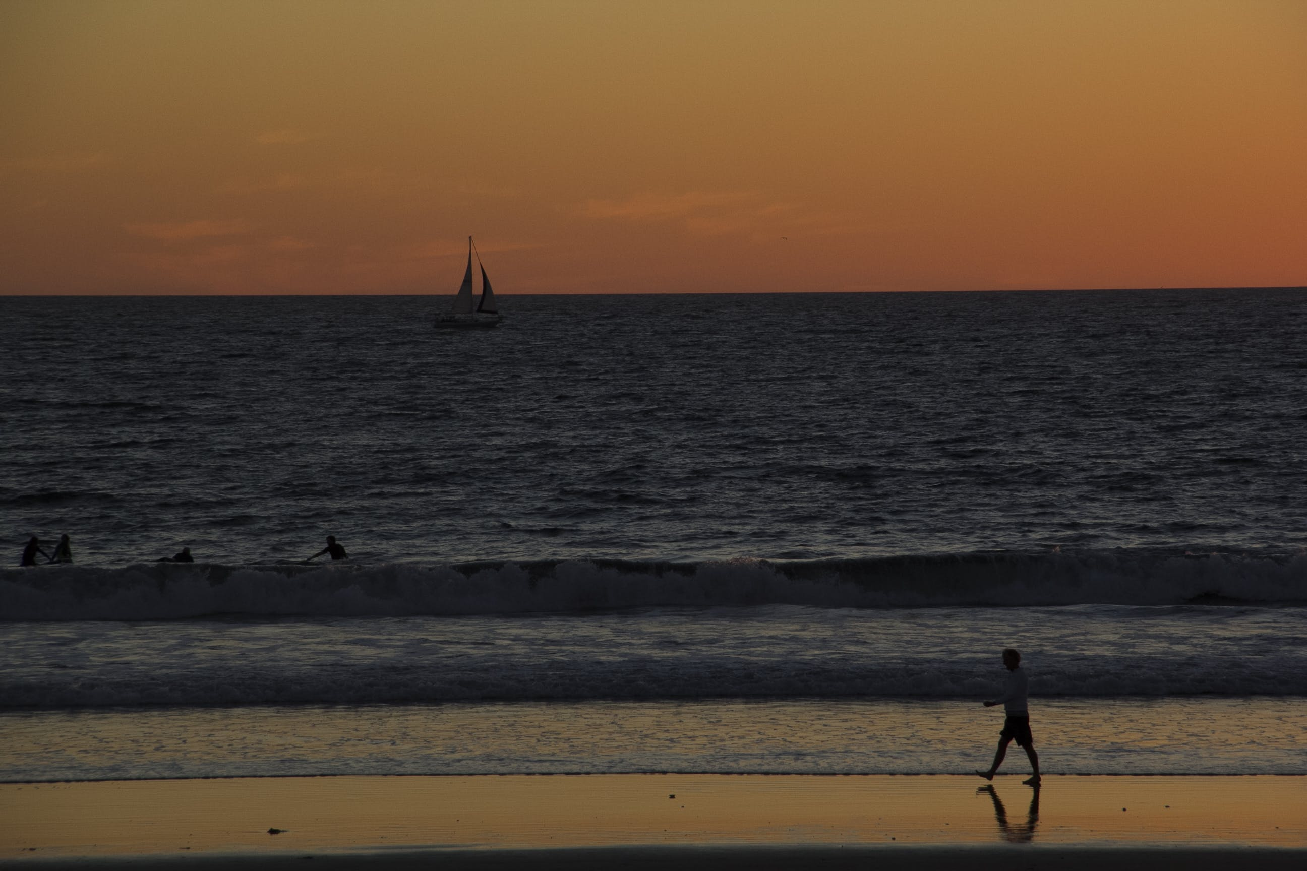 Free stock photo of beach, los angeles