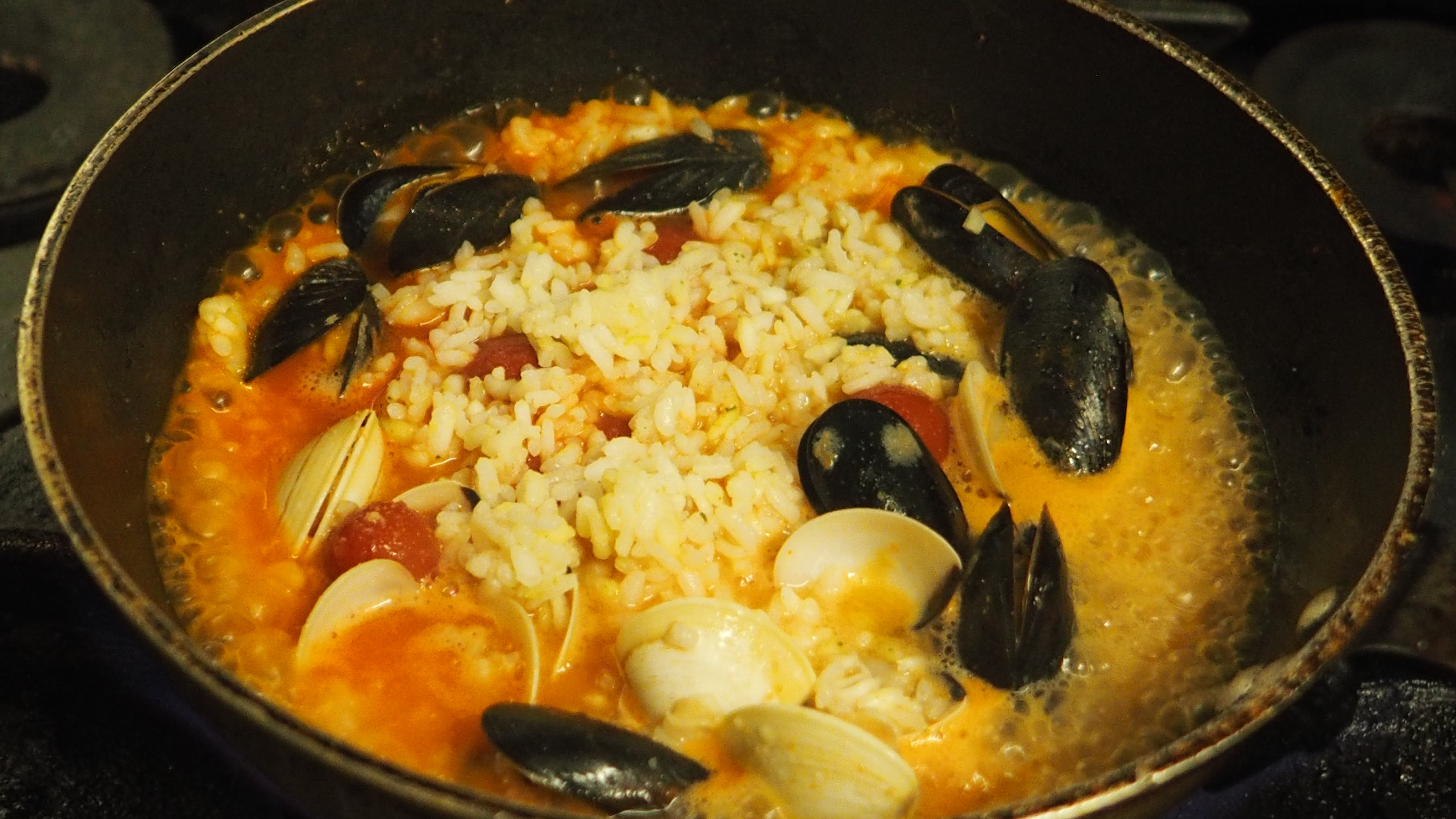 Free stock photo of Risotto, seafood, seafood risotto, tasty