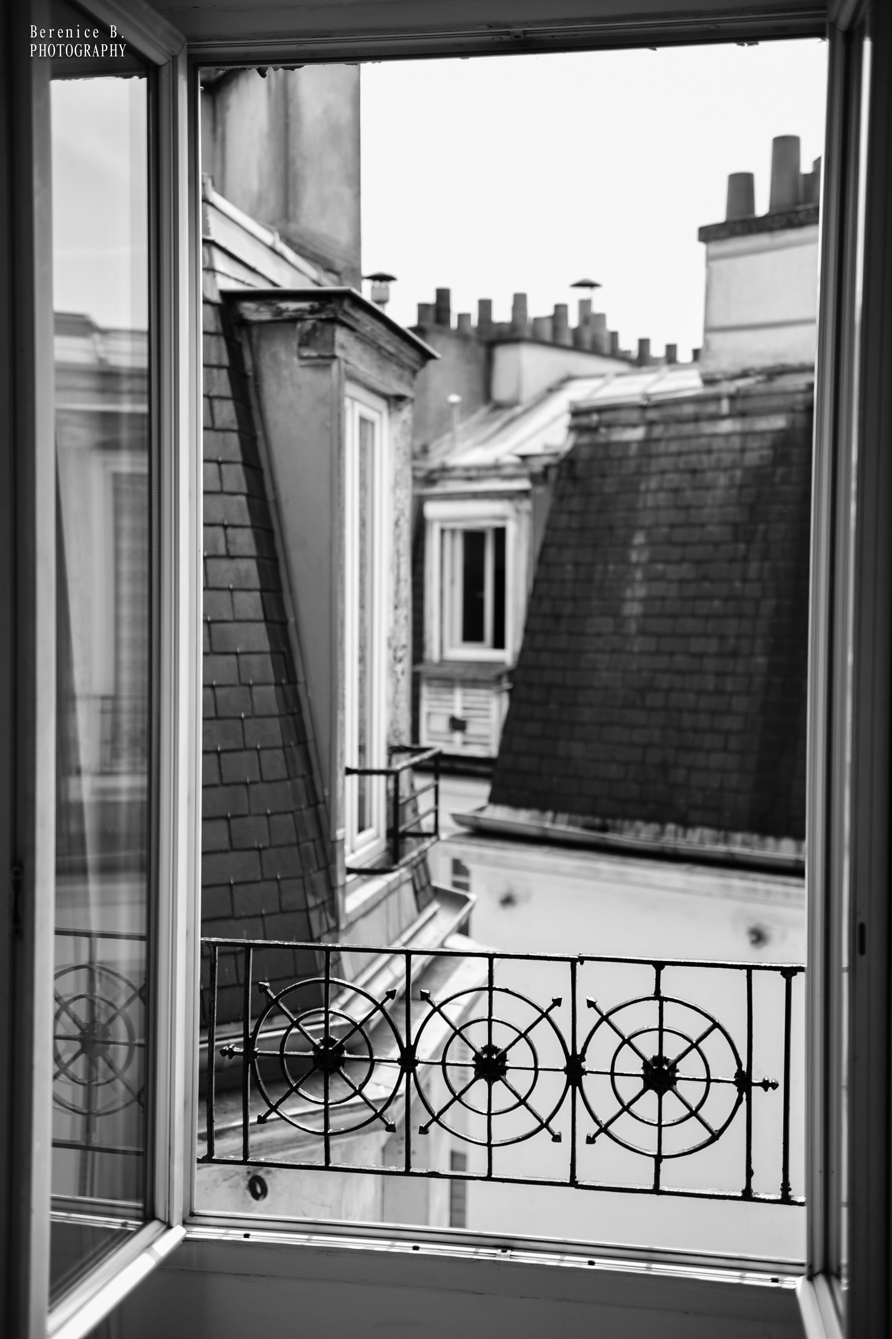 Free stock photo of fenetre, paris, toit, vue