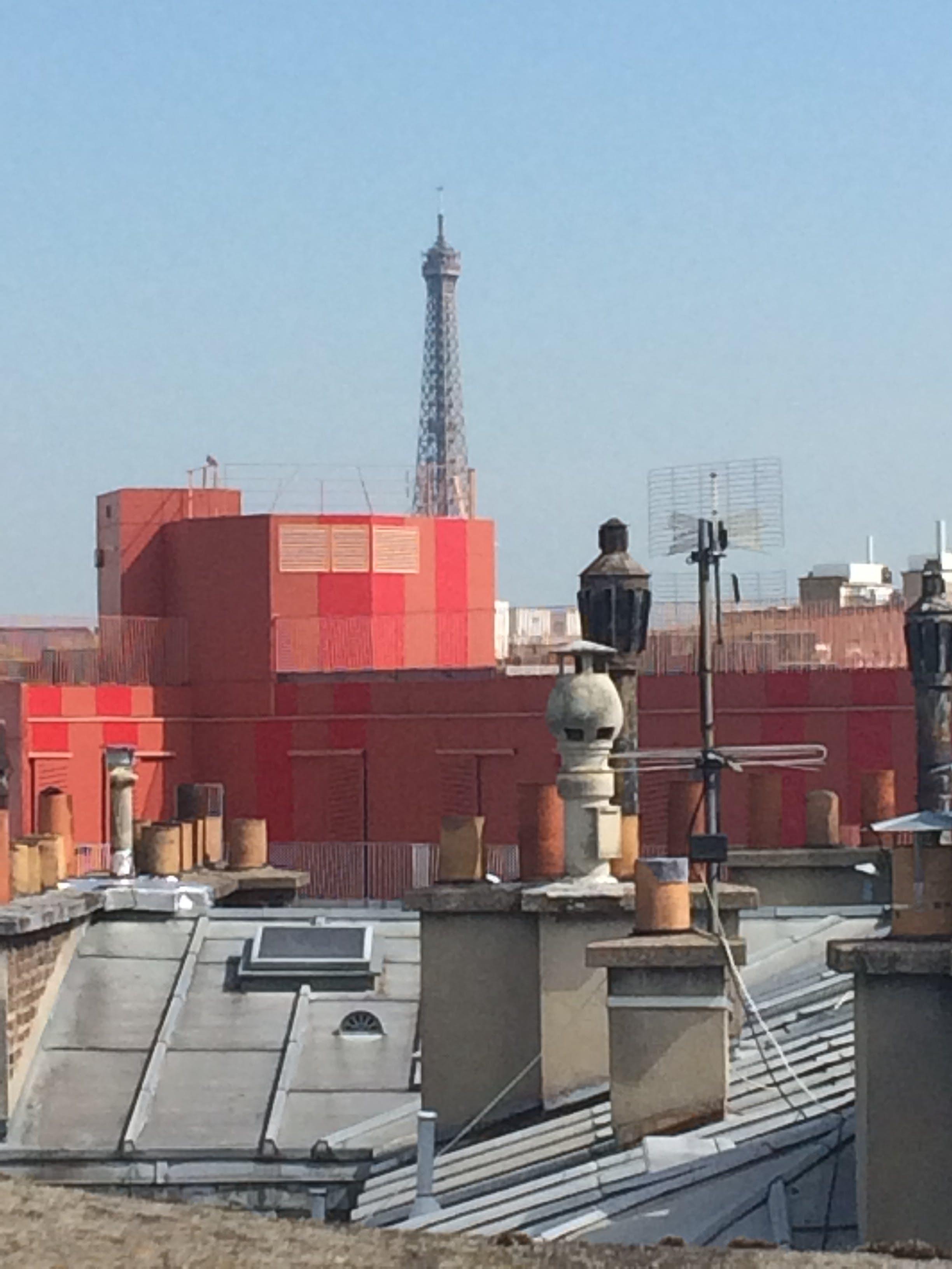 Free stock photo of antenne, cheminee, paris, toit