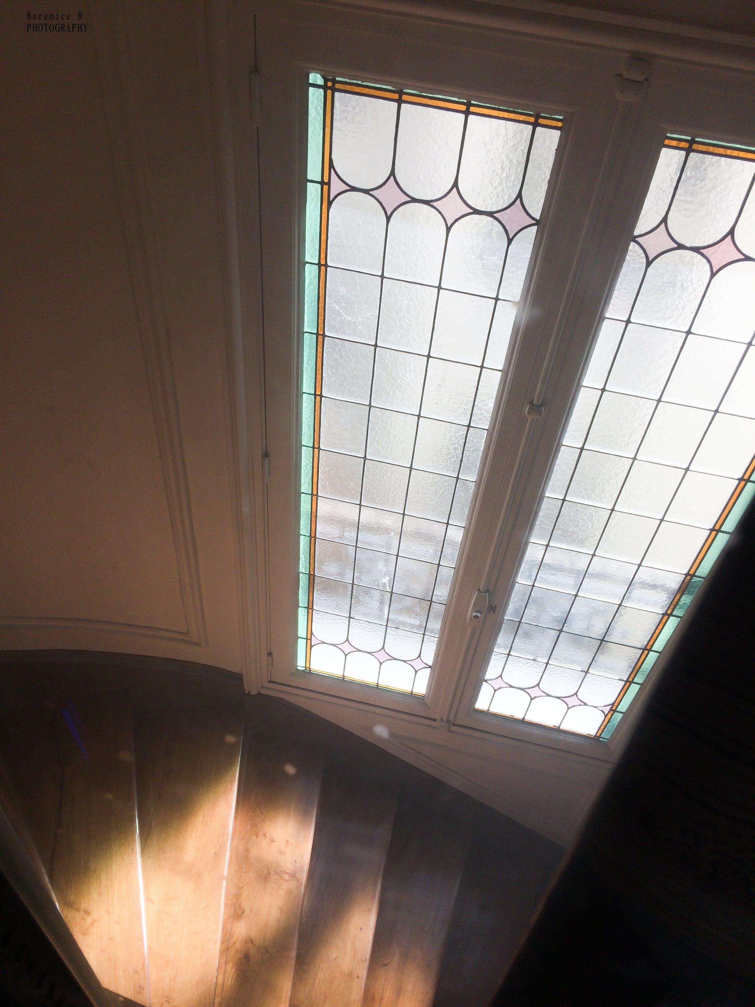 Free stock photo of escalier, fenetre, vitrage, vitrail