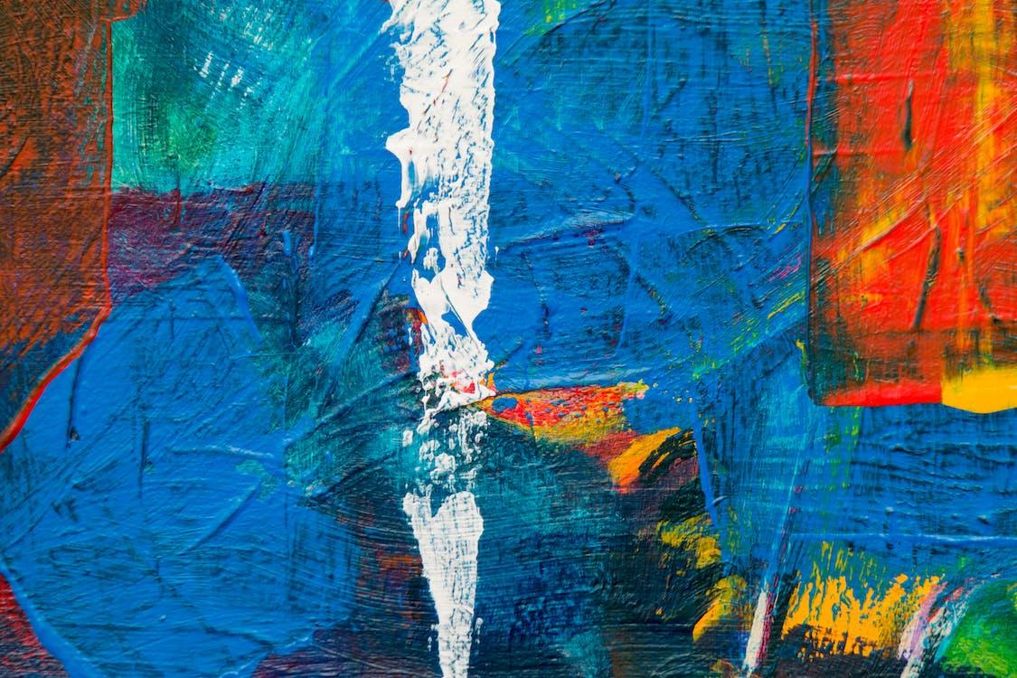 abstrakt ekspresjonisme, abstrakt maleri, akrylmaling