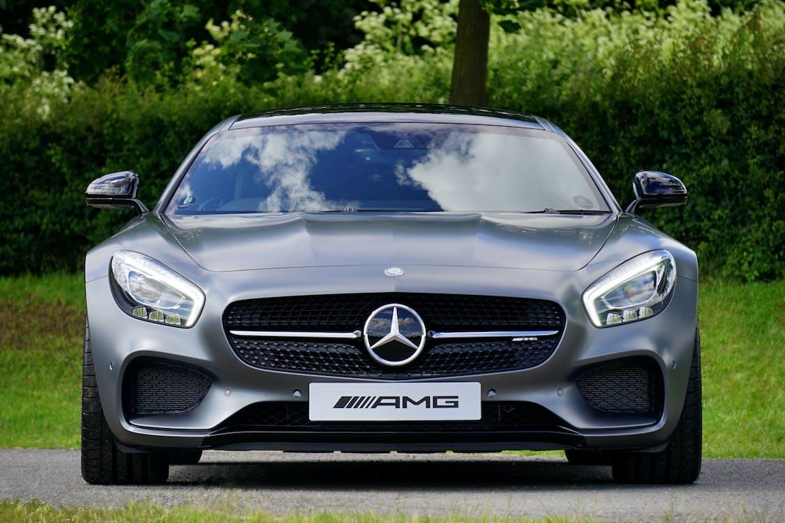 Gray Mercedez Benz Amg
