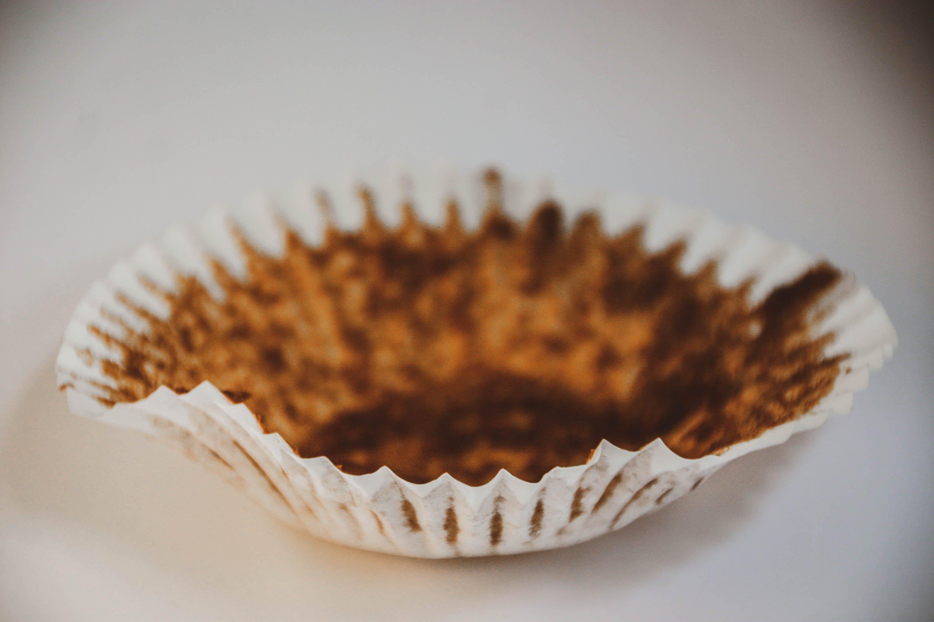Free stock photo of chocolate cupcakes, crumpled paper, cupcake