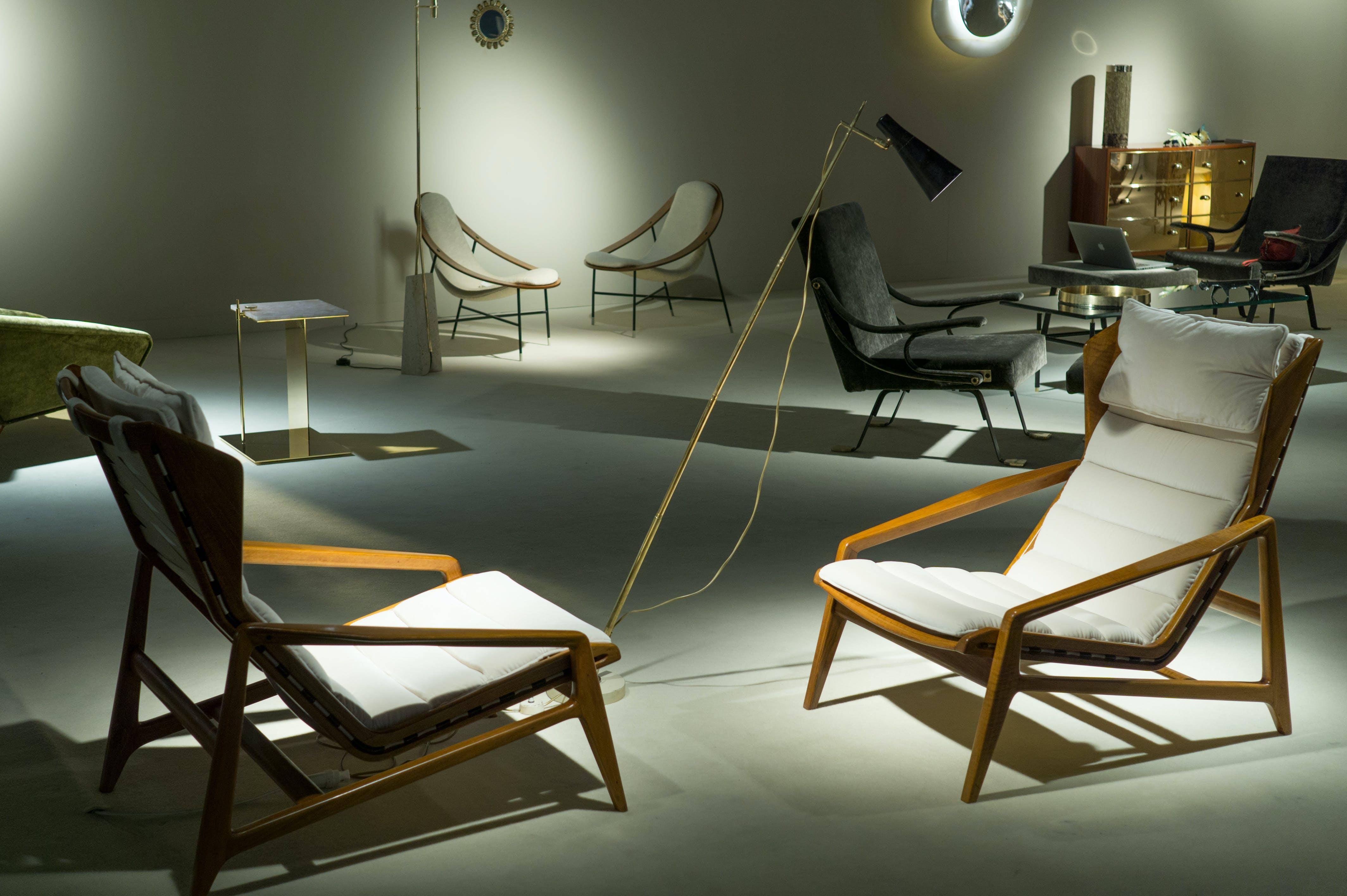 architecture, art, chair