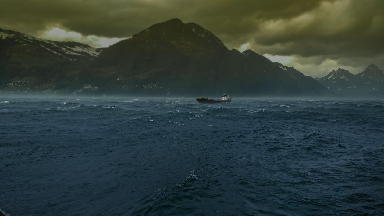 Photos gratuites de bateau, navire, orage
