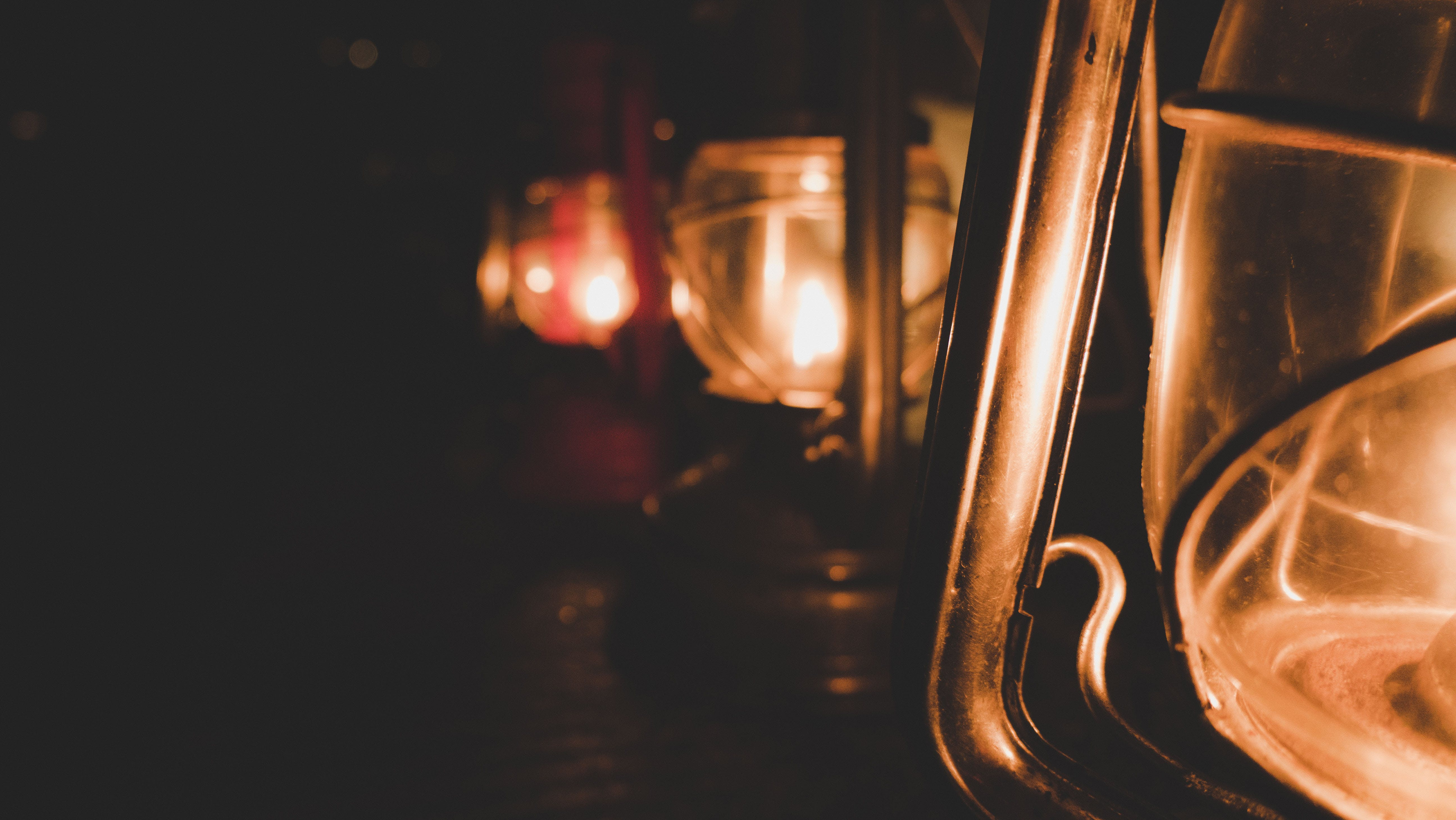 Free stock photo of fire, lamp, latern