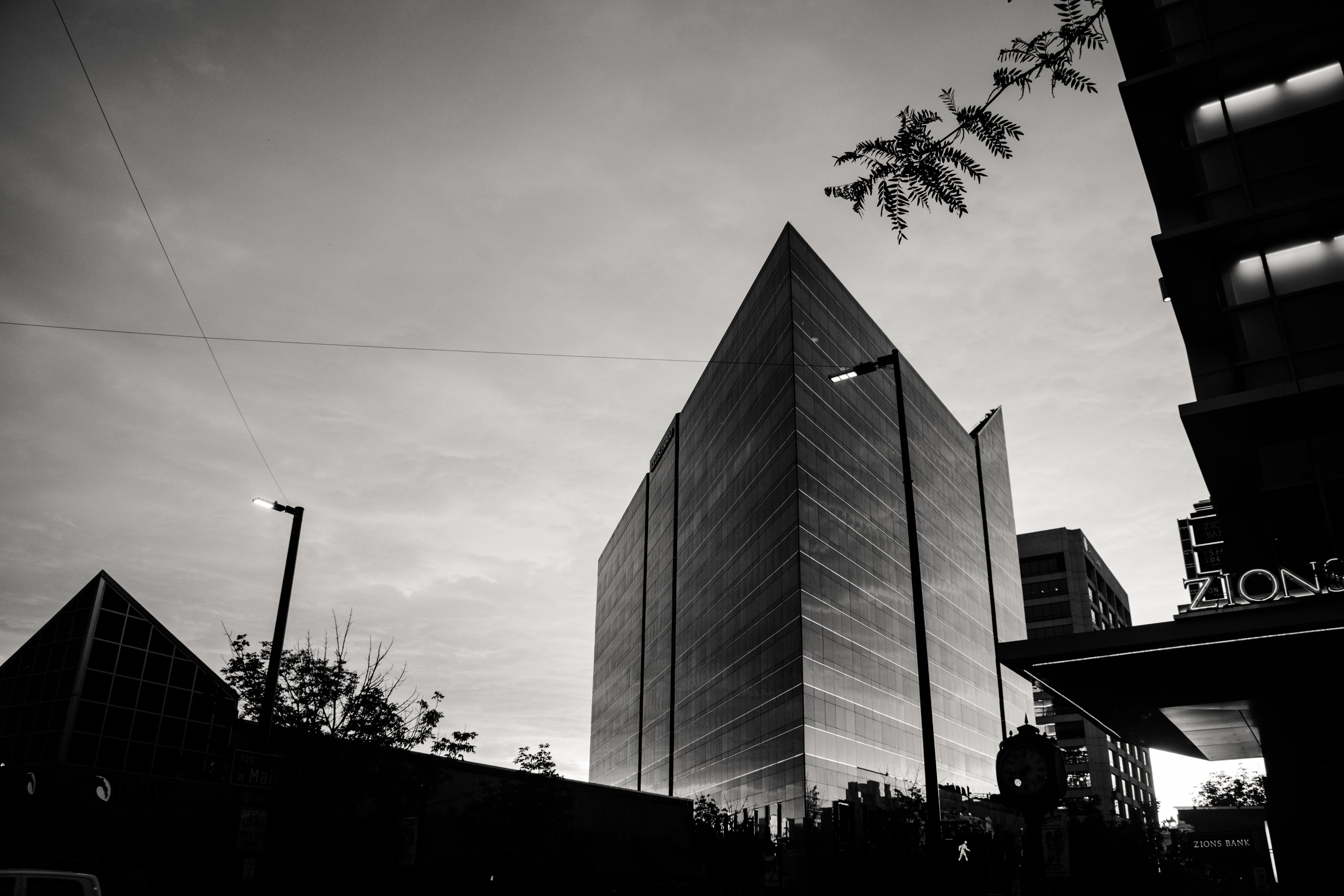 シティ, スカイライン, ダウンタウン, モダンの無料の写真素材