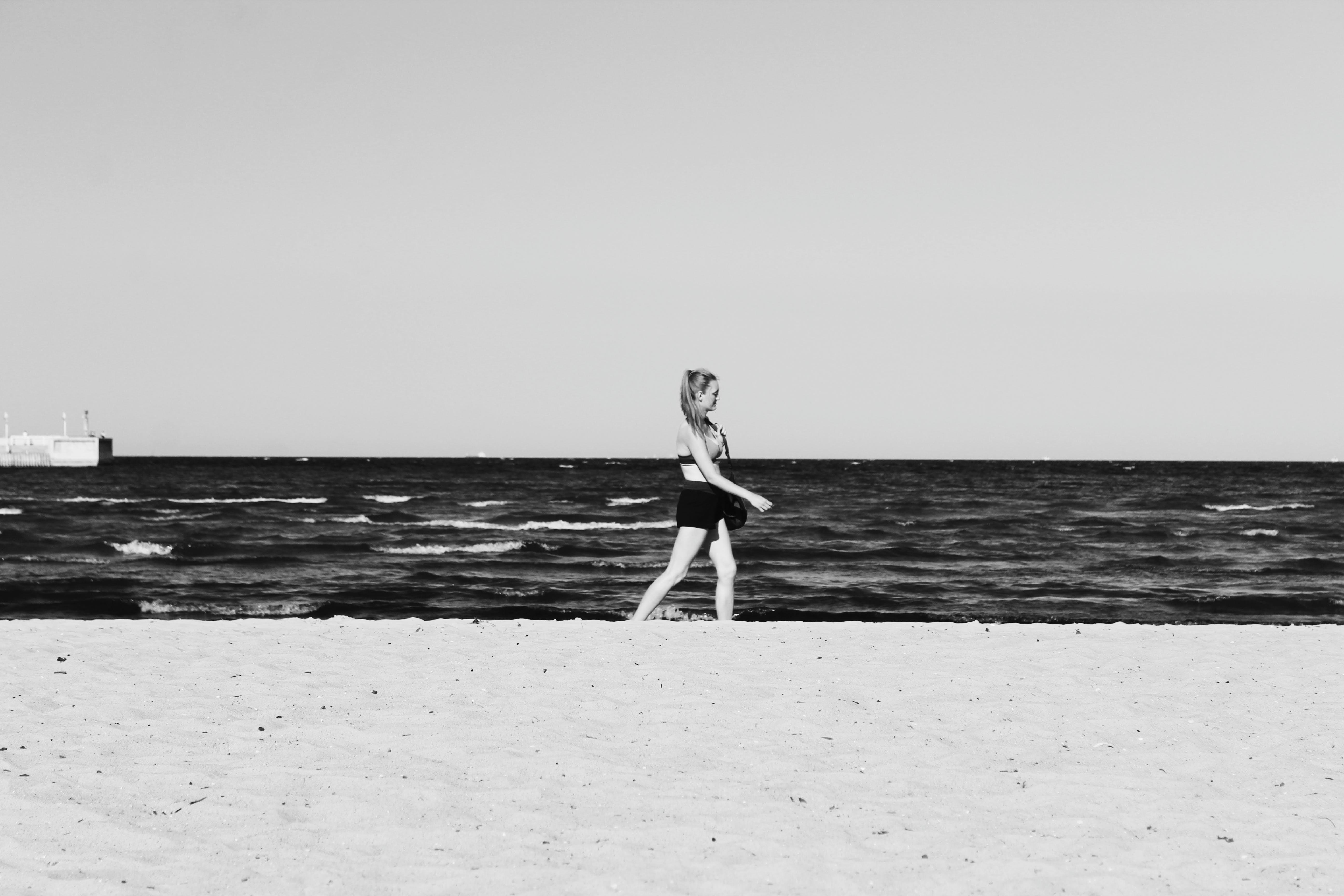 Free stock photo of sea, beach, alone