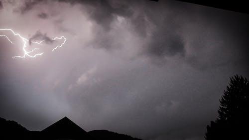 Gratis lagerfoto af lyn, lynnedslag, tyskland