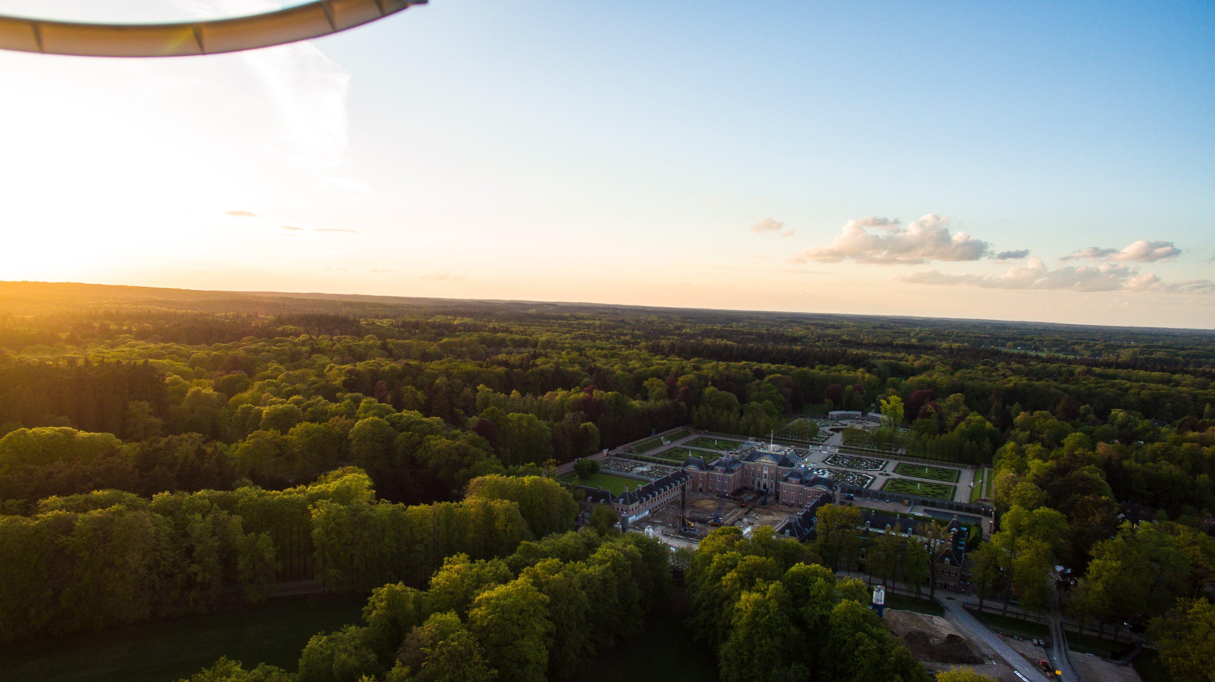 Free stock photo of apeldoorn, drone, drone view, Paleis Het Loo